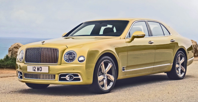 2023 Bentley Mulsanne Speed Exterior